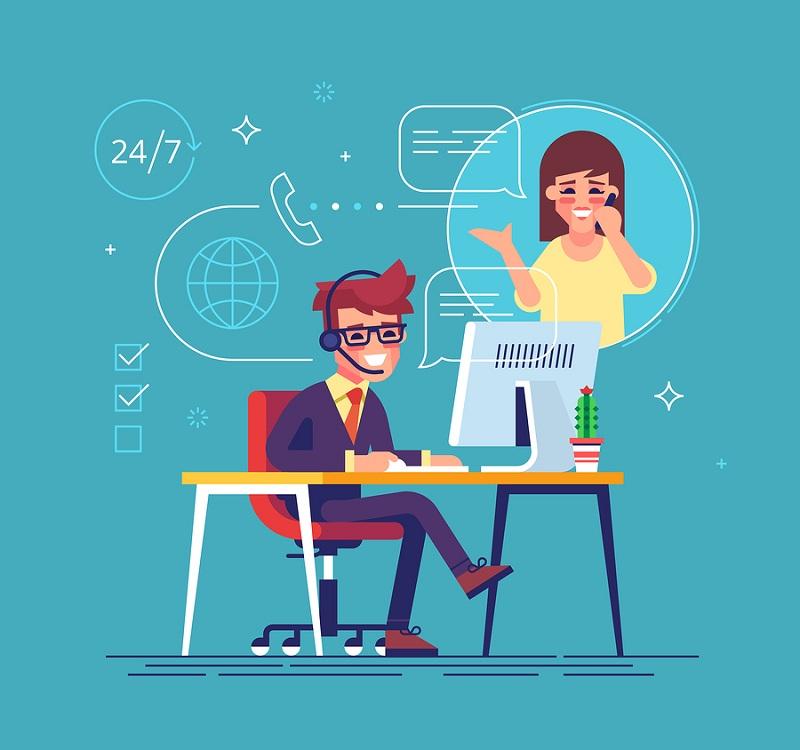 پشتیبانی آنلاین؛ ضامن حفظ مشتریان